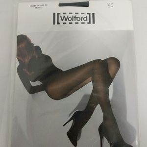 Wolford Velvet Deluxe 50 Tights Size Extra Small